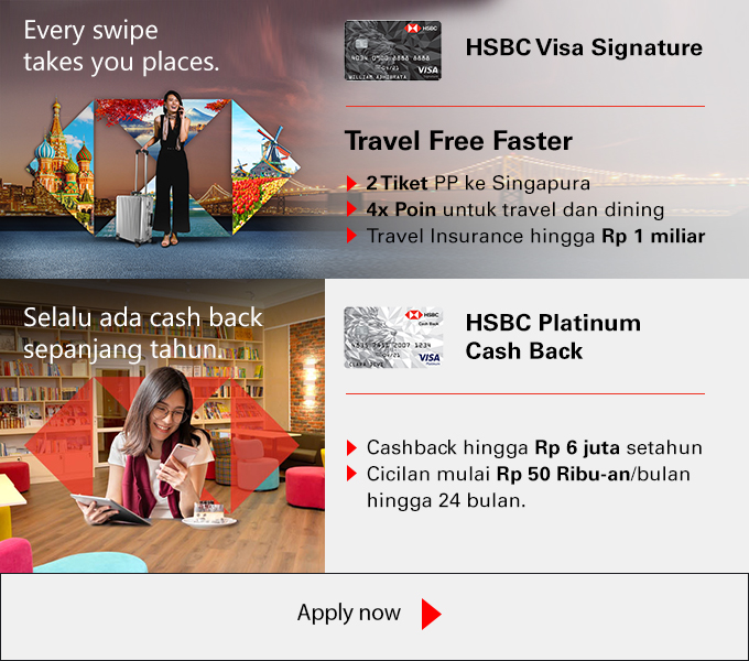 aa98594cc07 Credit Cards, Deposits, Loan, Investment and more | HSBC Indonesia